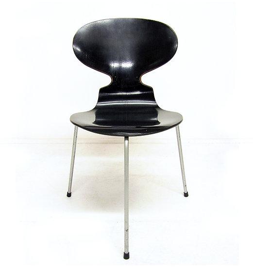 1950s Black Ant Chairs Arne Jacobsen Fritz Hansen Danish