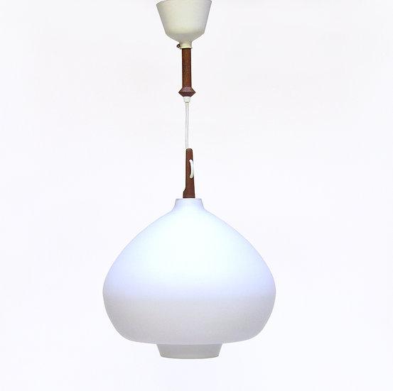 1960s Teardrop Ceiling Light By Hans Agne Jakobsson