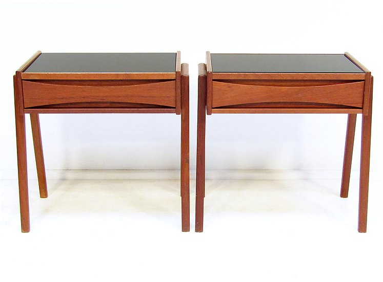 Pair Of Danish Side Tables Attributed to Arne Vodder