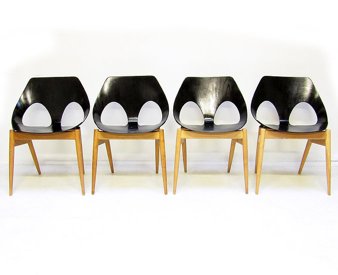 "Four ""Jason"" Chairs by Carl Jacobs for Kandya"