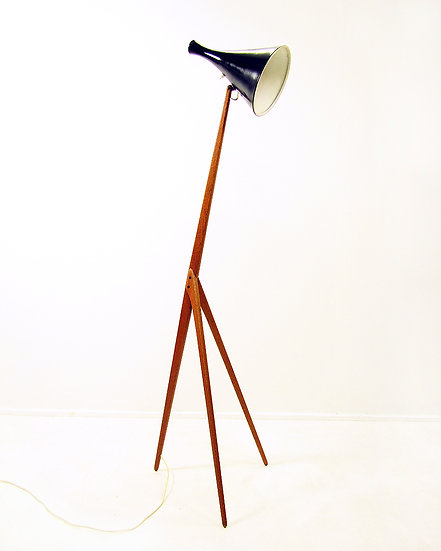 Praying Mantis Floor Lamp by Uno Kristiansson for Luxus