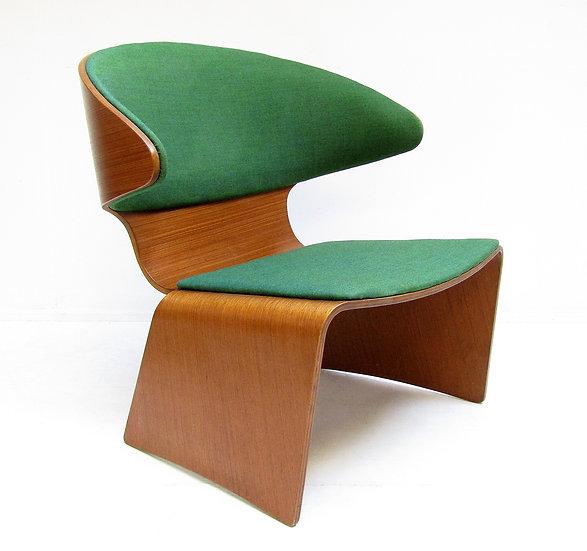 Hans Olsen Danish Bikini Chair 1960s Teak Kvadrat Frem Rojle