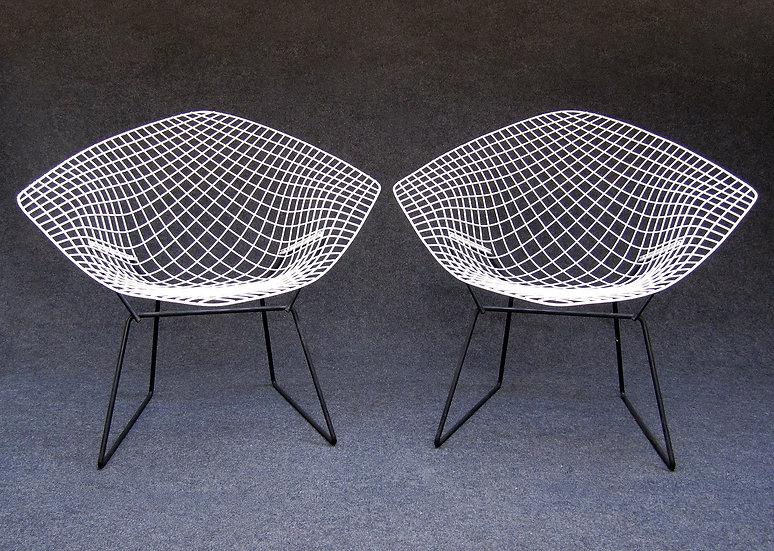 Harry Bertoia 421 Diamond Chairs 1960s Knoll International