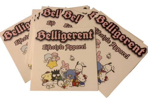 Hello Belligerent Stickers