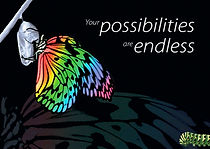 butterfly your possibilities are endless
