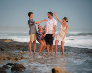 Fun family photography in Costa Rica