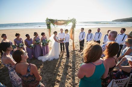 Tamarindo wedding photographer at RipJack Inn in Playa Grande, Costa Rica