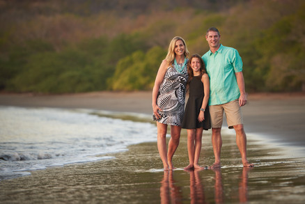 Family photography at El Mangroove Hotel, Autograph Collection in Playa Panama, Costa Rica