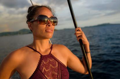 Sunset photographer with Panache Sailing in Playa Flamingo, Costa Rica