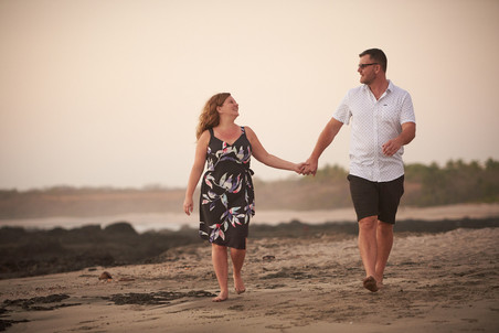 Playa Junquillal in Costa Rica professional engagement photographer