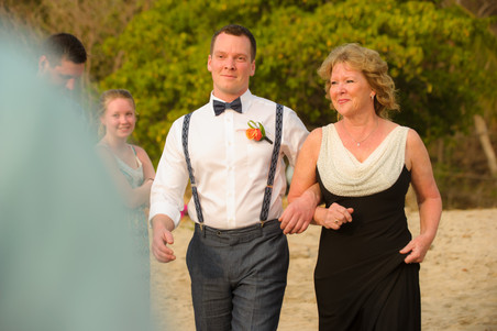 Just a short walk down the aisle at the Ripjack Inn in Playa Grande, Costa Rica