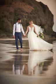 Beach wedding photography at RipJack Inn in Playa Grande, Costa Rica