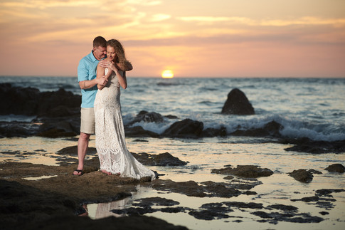 Elopement on the beach at the Occidental Tamarindo in Costa Rica