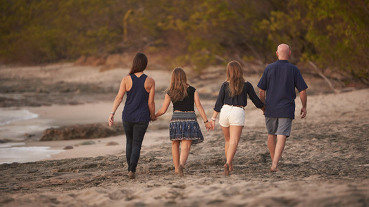 Family photography in Tamarindo, Costa Rica