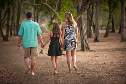 Family beach photography at El Mangroove Hotel, Autograph Collection in Playa Panama, Costa Rica
