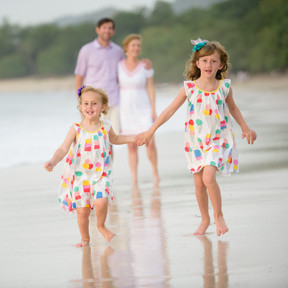 Family photography near Tamarindo, Costa Rica