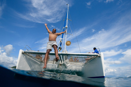 Catamaran tour photographer with Panache Sailing in Playa Flamingo, Costa Rica