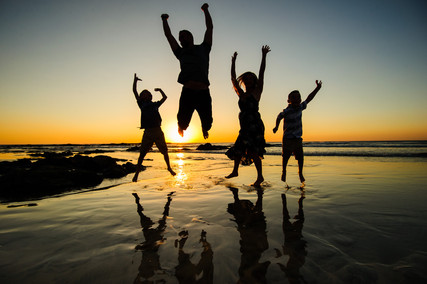 Joyfull family photos in Tamarindo, Costa Rica