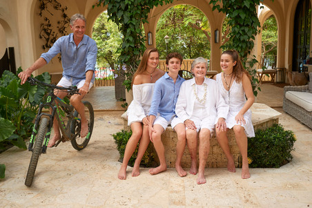 Family Photos at Las Catalinas, Costa Rica