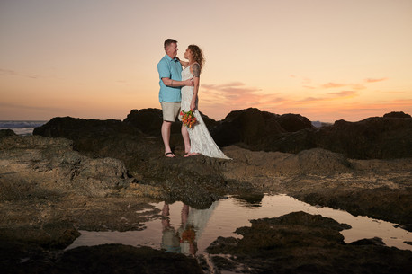 Elopement photographer at the Occidental Tamarindo in Costa Rica
