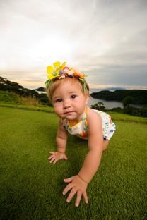 Baby photos at the Four Seasons Papagayo, Costa Rica