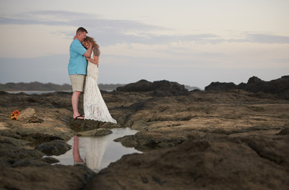 Wedding photographer at the Occidental Tamarindo in Costa Rica