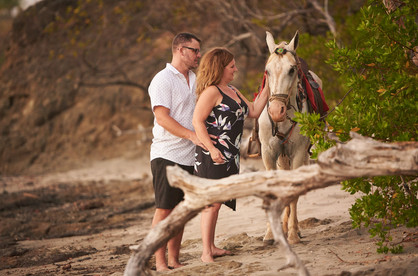 Playa Junquillal in Costa Rica professional engagement photography