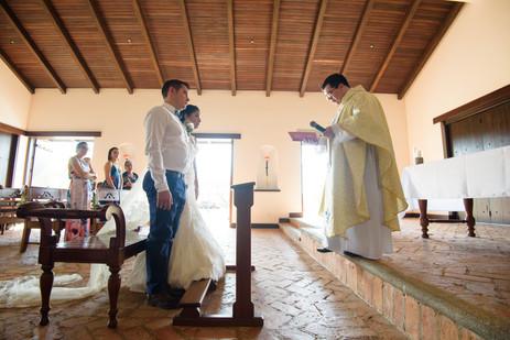 Hacienda Pinilla Chapel Wedding