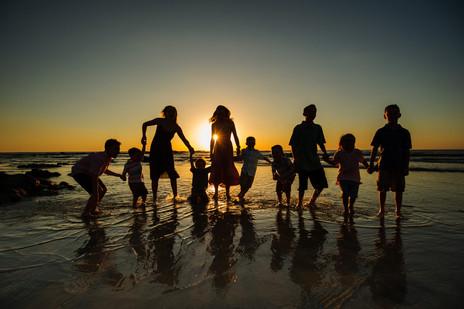 Fun Family photos in Playa Langosta, Costa Rica