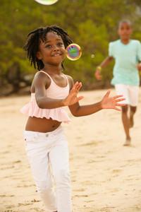 Happy kids photos at Hacienda Pinilla, Guanacaste, Costa Rica