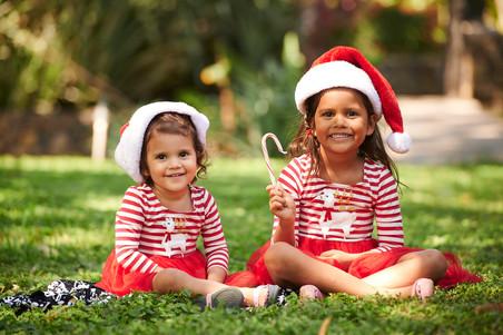 Adorable Christmas photos in Tamarindo, Costa Rica