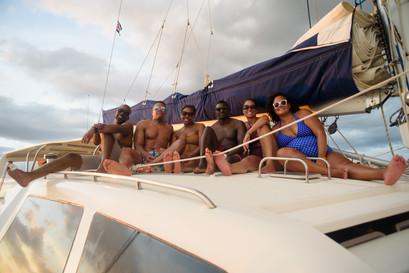 Birthday photography with Panache Sailing in Playa Flamingo, Costa Rica