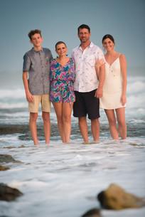 Beach family photos in Tamarindo, Costa Rica