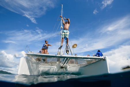 Catamaran tour photography with Panache Sailing in Playa Flamingo, Costa Rica