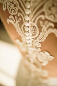 Wedding dress photo at the Ripjack Inn in Playa Grande, Costa Rica