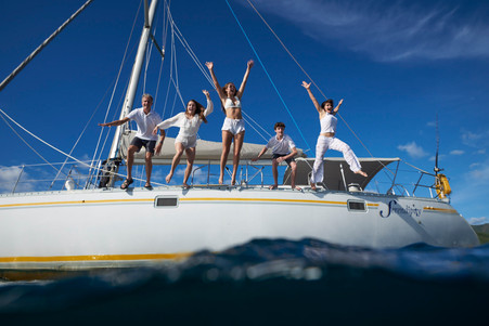 Catamaran photography with Serendipity Charters Catamaran, Costa Rica