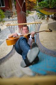 Crooning at the Ripjack Inn in Playa Grande, Costa Rica