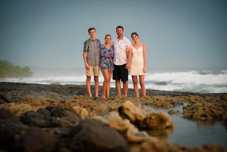 Family photography in Tamarindo, Costa Rica