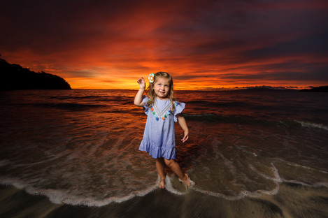 Childrens' Photography at the Four Seasons Papagayo, Costa Rica