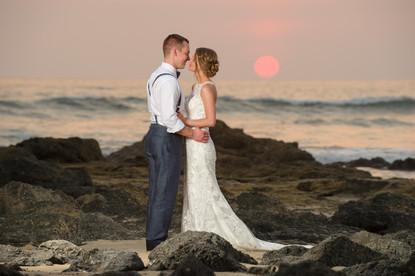 In love at the Ripjack Inn in Playa Grande, Costa Rica