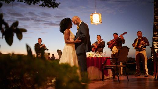 Wedding reception photography at the Tamarindo Diria, Costa Rica
