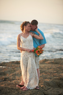 Beach elopement at the Occidental Tamarindo in Costa Rica
