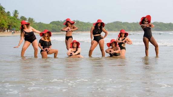 Delta Sigma Theta Vacation Photo Shoot in Costa Rica
