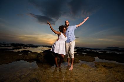 Couple's Photos in Tamarindo, Costa Rica