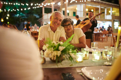 Wedding reception photography at Pangas Beach Club in Tamarindo, Costa Rica