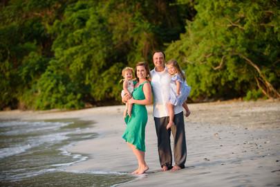 Family Beach Photos at the Four Seasons Papagayo, Costa Rica