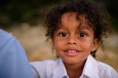 Candid kids photos on Playa Langosta in Tamarindo, Costa Rica