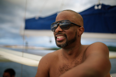 Sailing photo shoot with Panache Sailing in Playa Flamingo, Costa Rica