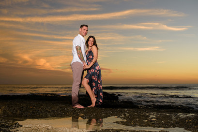 Engagement photographer in Tamarindo, Costa Rica