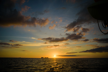 Perfect sunset photography with Panache Sailing in Playa Flamingo, Costa Rica